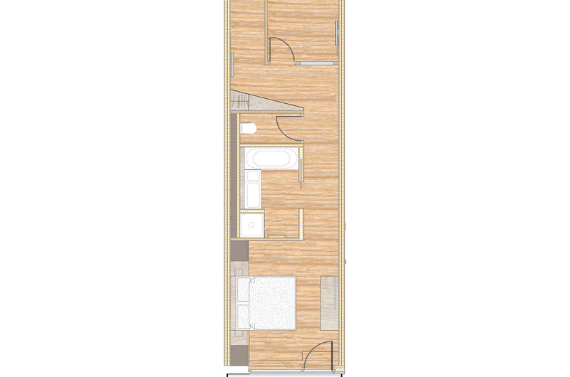NEW: Type C family flat with balcony